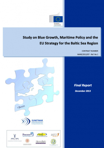 Study on Blue Growth, Maritime Policy and the EU Strategy for the Baltic Sea Region