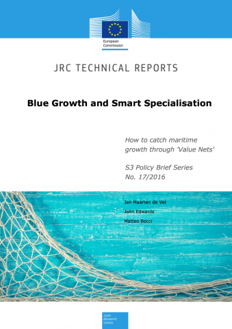 "Blue Growth and Smart Specialisation: How to catch maritime growth through ""Value Nets"""