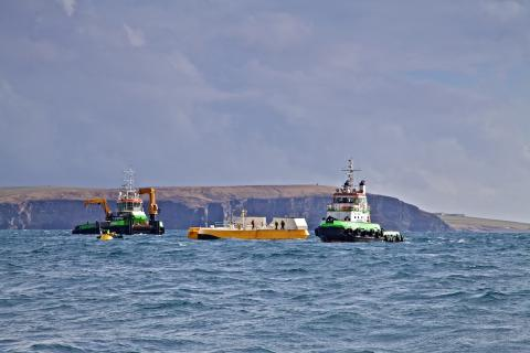 EMEC wave test site - Image credit Colin Keldie, courtesy of CEFOW