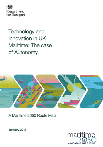 Maritime 2050 - Navigating the Future -Technology and innovation in UK Maritime: The case of Autonomy