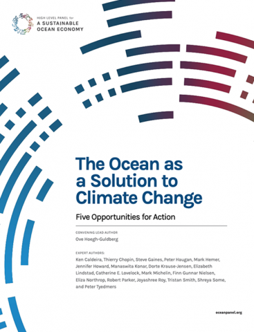 The Ocean as a Solution to Climate Change